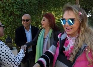 نبيلة عبيد تصل شرم الشيخ وتستعد لحفل إفتتاح مهرجان السينما العربية والأوروبية