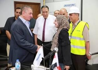 محافظ كفر الشيخ يتفقد محطة كهرباء البرلس بقدرة 4800 ميجاوات