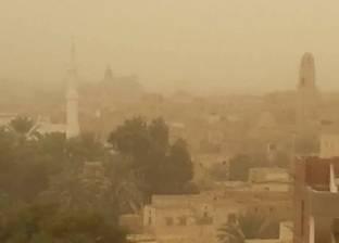 """""""الأرصاد"""": عواصف ترابية تضرب القاهرة والجيزة.. وغدا سقوط أمطار"""