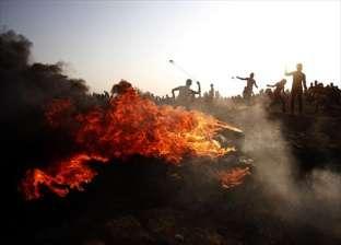 إصابة 7 فلسطينيين برصاص قوات الاحتلال على حدود غزة