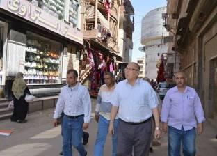 رئيس مدينة المحلة يوجه بحل مشكلات نقص المياه في منطقة سوق اللبن