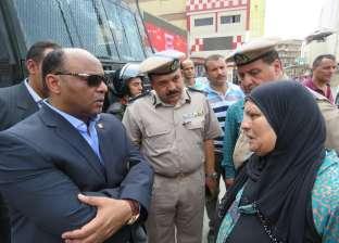 مدير أمن الغربية يتفقد الخدمات الأمنية بشوارع طنطا ويستمع للمواطنين