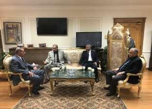 محافظ أسيوط يستقبل رئيس جامعة الأزهر لمناقشة التعاون المشترك