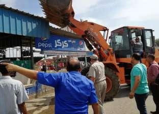 تحرير 135 حالة تعدِ على أملاك وأراضي الدولة في حملة أمنية بالغربية