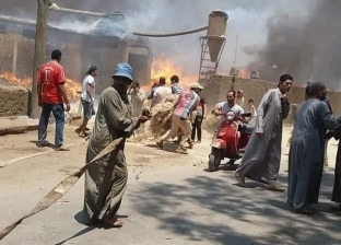 السيطرة على حريق شب بمصنع كتان بـ شبراملس في الغربية