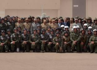 """السيسي يتفقد سير عملية """"سيناء 2018"""": سنحتفل بالنصر على خوارج هذا العصر"""