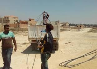 حي العامرية بالإسكندرية يشن حملة لإيقاف البناء المخالف