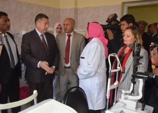 """إطلاق مشروع """"نور العيون"""" لتنفيذ 600 جراحة خلال 3 سنوات في بني سويف"""