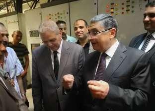 وزير الكهرباء يتفقد استاد القاهرة قبل ساعات من انطلاق أمم أفريقيا
