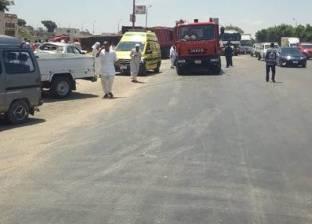 إصابة 12 في حادثي تصادم بطريقي بلبيس والصالحية الجديدة