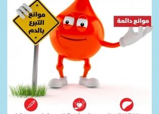 تعرف على فوائد وموانع التبرع بالدم