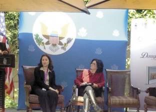 حرم نائب السفير الأمريكى تحتفل بـ«بنات النيل»