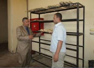 ضبط صاحب مخبز استولى على 102 شيكارة دقيق مدعم في كفرالشيخ