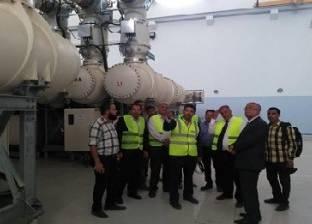 محطة محولات كهرباء غرب مغاغة.. صرح عملاق بسواعد مصرية 100%