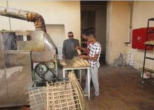 بالصور| رئيس مدينة أبو رديس بجنوب سيناء يتفقد المخابز