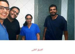 جامعة الإسكندرية تكرم فريقا طبيا أنقذ مريضا مطعونا في القلب