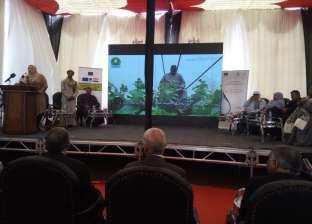 """بالصور  """"الري"""" تعقد المؤتمر الأول لروابط مستخدمي المياه مركز الشهداء"""