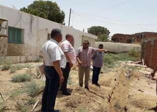 """وكيل """"زراعة الوادي الجديد"""" يتفقد أعمال إنشاء مركز الإرشاد الزراعي"""