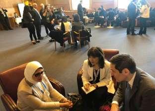 وزيرة الصحة تعقد عدد من اللقاءات مع منظمات دولية لدعم المنظومة الصحية