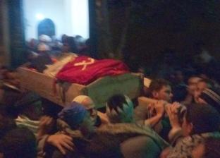 """تشييع جنازة الشهيد """"أحمد سعيد"""" بمسقط رأسه في المنيا"""