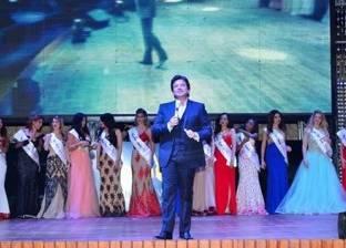 بالصور| وليد توفيق يحيي حفل ملكة جمال العرب في شرم الشيخ