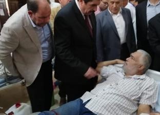 محافظ القليوبية يتفقد مستشفى شبين القناطرويستمع لشكاوى المرضى