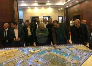 رئيس هيئة موانئ البحر الأحمر يتفقد ميناء سفاجا