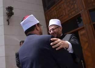 انطلاق معرض الأوقاف للكتاب بساحة مسجد الإمام الحسين