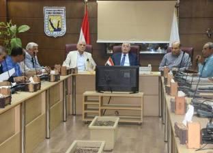 محافظ جنوب سيناء يعقد الاجتماع الدوري لمتابعة المشروعات التنموية