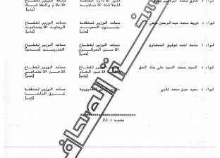 تعين اللواء أحمد مصطفى طايل مدير أمن جنوب سيناء