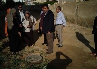 نائب محافظ السويس يتفقد أعمال صيانة مدرسة بحي عتاقة