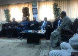 """وزير الزراعة يزور """"العامة للاستصلاح الزراعي"""" لمناقشة دور """"التعاونيات"""""""