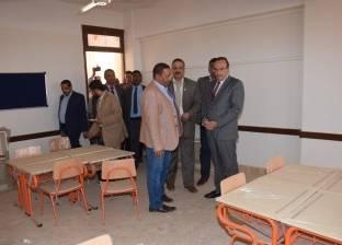 محافظ بني سويف: إعادة استخدام مدرسة بعد توقفها 18 عاما