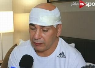 """حسام حسن عن استقالته من المصري: """"انضربت في الكونغو ومحدش اطمن عليا"""""""