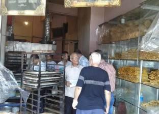 ضبط 876 عبوة مواد غذائية مجهولة المصدر في حملة تموينية بالغربية