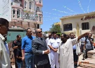 محافظ البحر الأحمر يتابع مشروع تطوير وإنشاء مسجد الرحمن الرحيم