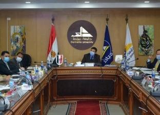 جامعة دمياط توافق على إنشاء بنك للمعامل والأجهزة العلمية