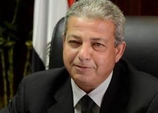 وزير الرياضة مهئنا المنتخب: «لا تهاون حتى تحقيق الهدف»