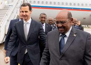الرئيس السوداني يزور سوريا ويلتقي بشار الأسد
