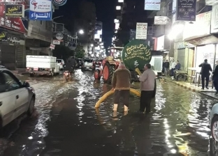 هطول أمطار على محافظة الدقهلية