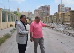 حملات نظافة وتجميل موسعة بالإسماعيلية استعدادا لإجازة عيد الفطر