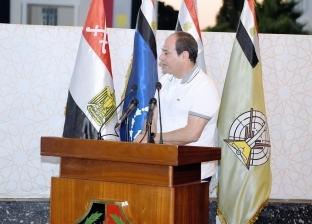 السيسي يشارك طلبة الكلية الحربية قضايا الساعة المطروحة إقليميا