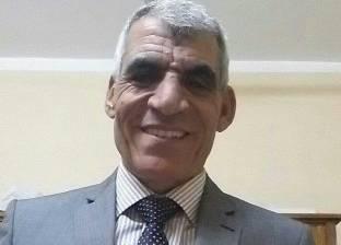 """أمين """"المصريين الأحرار"""" بالخانكة يزور هيئة الأبنية التعليمية"""
