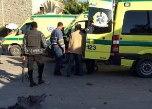 """مصرع شخصين وإصابة 4 في تصادم سيارة بـ""""جمال"""" بطريق الضبعة القاهرة"""