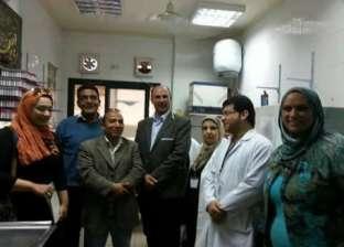 عضو المكتب الفني لوزير الصحة تتفقد المراكز الطبية في دمياط