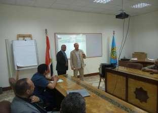نائب رئيس جامعة الأزهر يتفقد الدورات التدريبية لأعضاء هيئة التدريس