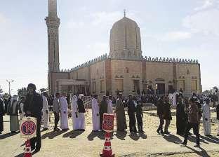 نواب مديري المديريات الخدمية والمركزية بشمال سيناء يزورون أهالي الروضة