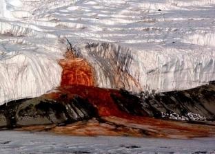"""""""شلالات الدم"""".. علماء يكشفون سبب اللون الأحمر للمياه في القطب الجنوبي"""