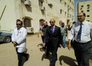 وكيل الصحة بالشرقية يتفقد مستشفى ههيا المركزي لمتابعة سير العمل