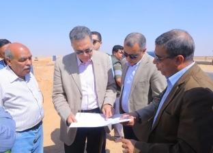 """وزير النقل في جولة تفقدية لمتابعة مشروع تطوير طريق """"القاهرة - أسيوط"""""""